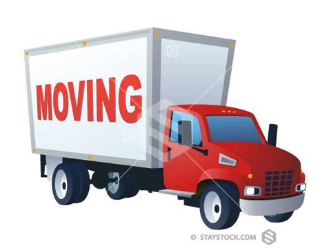Moving Word Truck