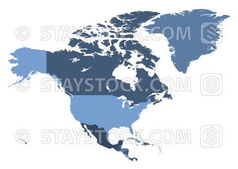 American Map Vector.North American Map Vector Staystock