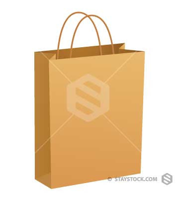 Paper Bag String Handles