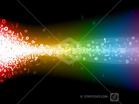 Rainbow Digital Explosion