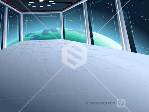 Sci Fi Space Background