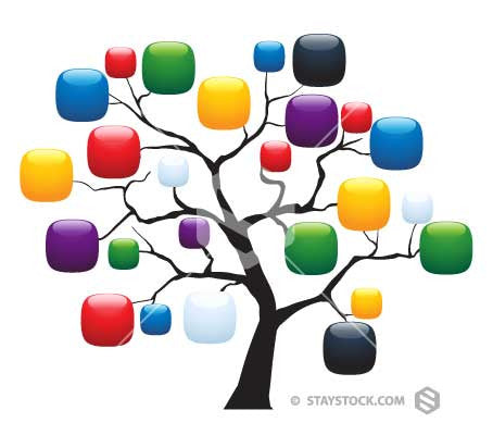 Shiny Icon Tree