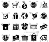 Shopping ecommerce Icons