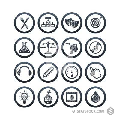 Simple Icon Circles Two