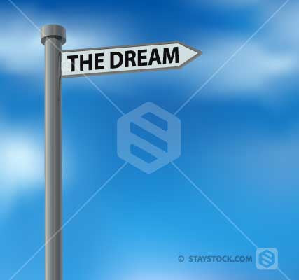 The Dream Street Sign