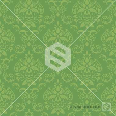 Wallpaper Green Design