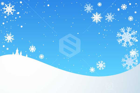 Winter Background Snow