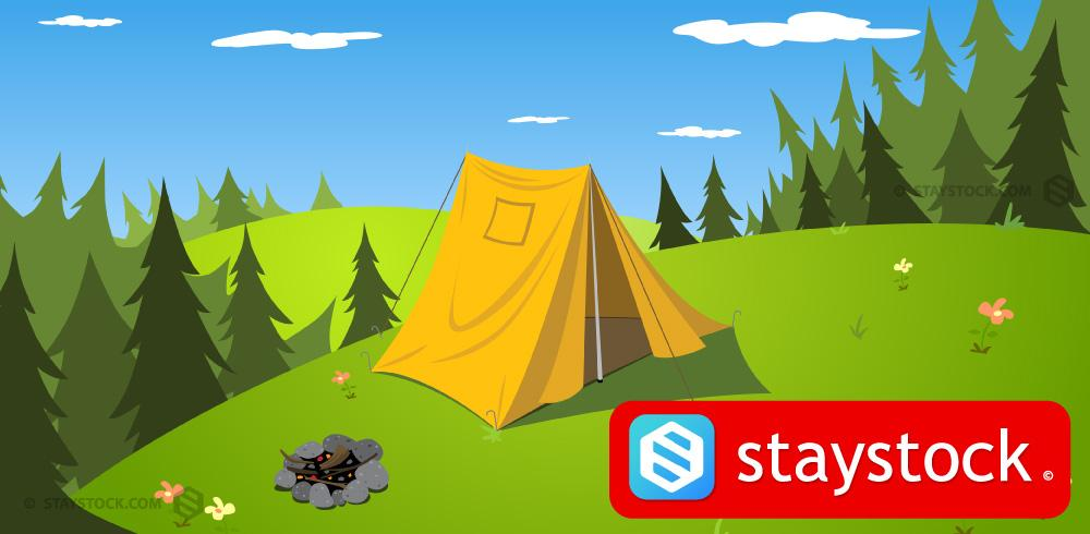 Staystock 'camping' royalty free images