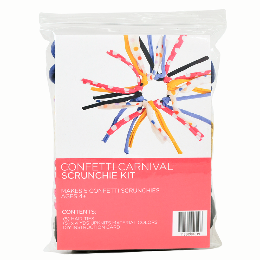 Confetti Carnival Eco DIY Scrunchie Kit