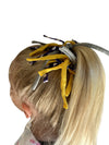 Game Day Purple/White/Yellow Eco DIY Scrunchie Kit