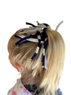 Game Day Navy/White Eco DIY Scrunchie Kit