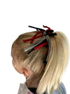 Game Day Red/Gray/Black Eco DIY Scrunchie Kit