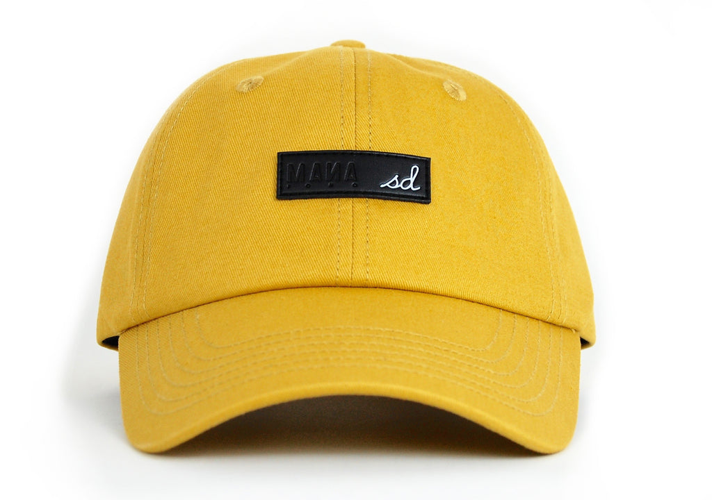 MOM HAT - BUTTERSCOTCH