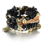 A MUST-HAVE!!   Boho Multilayer Charm Bracelet