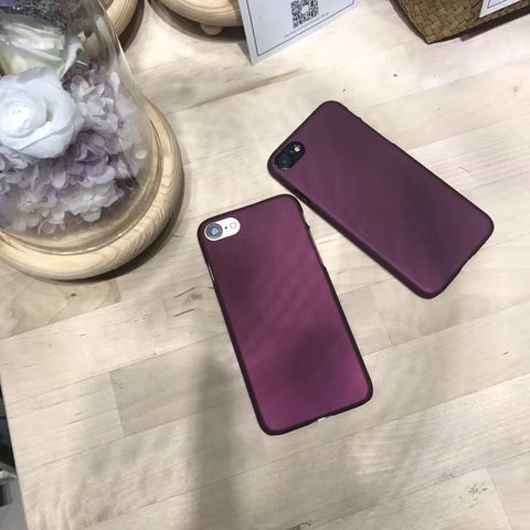 "📱""FREE"" New Arrival!!  Luxury Wine Red Case For iphone📱"