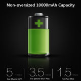 📱EXTREME PERFORMANCE!?? FREE Shipping 📱  Power Bank Ultra Slim 10000mAh for iPhone 4 5 6 7 SE Mobile Phone External Battery