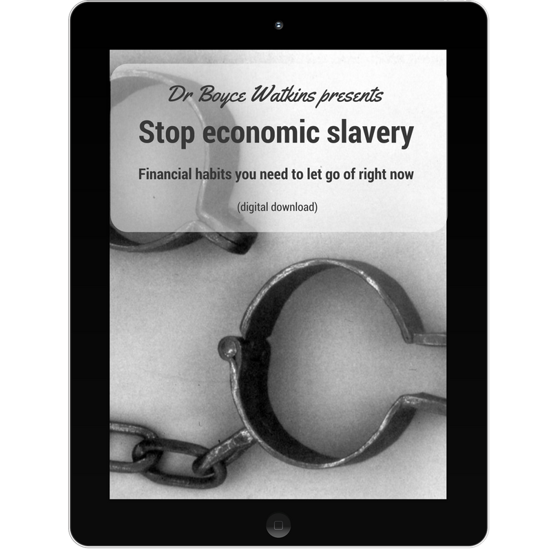 Dr Boyce Watkins presents - Stop economic slavery - Financial habits you need to let go of right now (Audio Lecture Download)