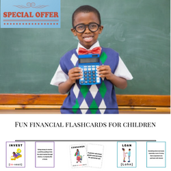 The Dr Boyce Watkins Fun Financial Flash Cards for children