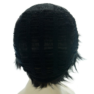 The Basketball Which Kuroko Plays Himuro Tatsuya Short Black Anime Cosplay Wigs 159A