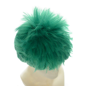 One Piece Roronoa Zoro Green Short Anime Cosplay Wigs 243A