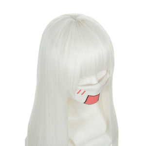 K: Return of Kings Kushina Anna White Long Heat Resistant Fiber Anime Cosplay Wigs 306F