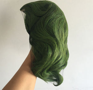 Rulercosplay Joker Movie Clown Batman Joker Wig Cosplay Joaquin Phoenix Arthur Fleck Curly Green Synthetic Hair