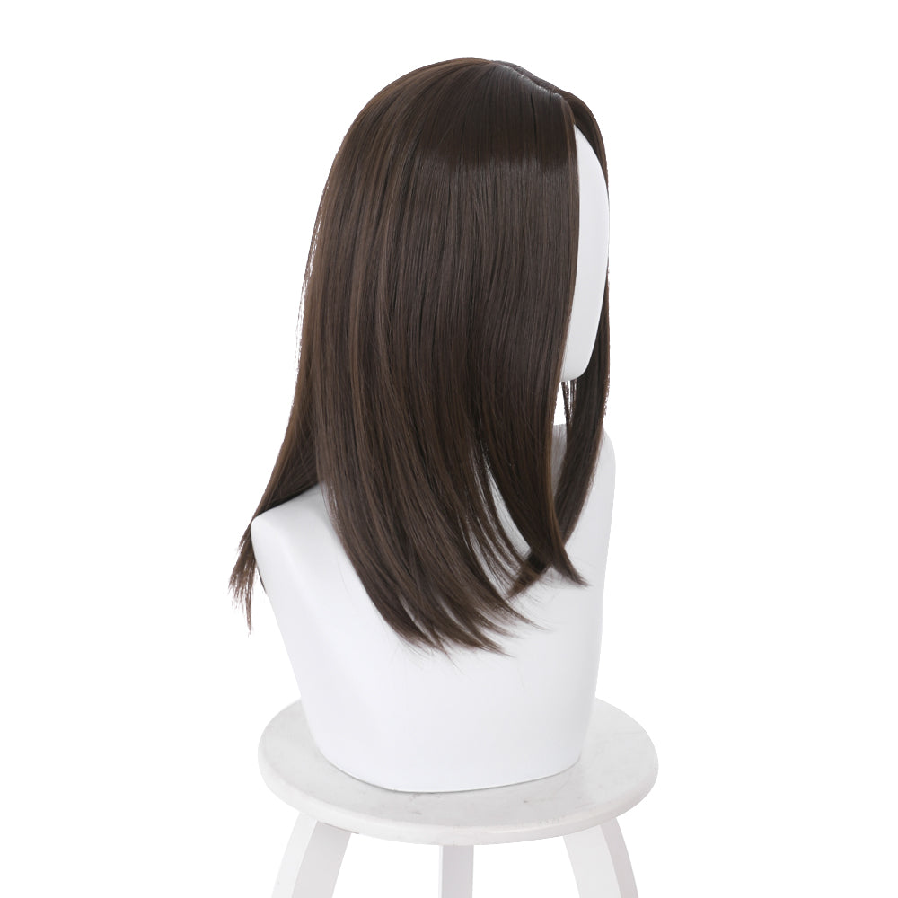 Sweet Harajuku Original 70 CM Long Black With Flat Bang Lolita Girl Cosplay Wigs WB-009