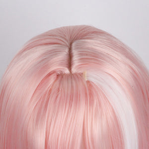 Fate/Apocrypha Astolpho Pink And White Ombre Braid Anime Cosplay Wigs 235L