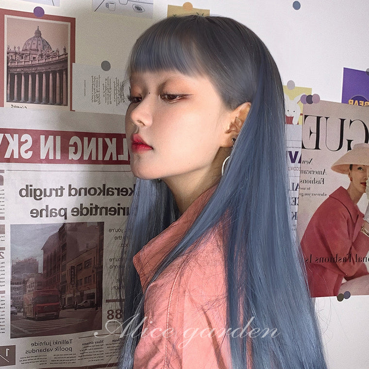 The Numbers NO 15 Jyugo Blace With Red Anime Cosplay Wigs 422A