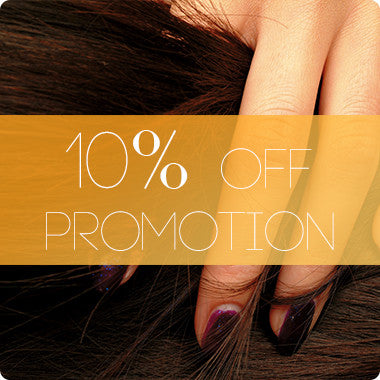 10% OFF Promotion
