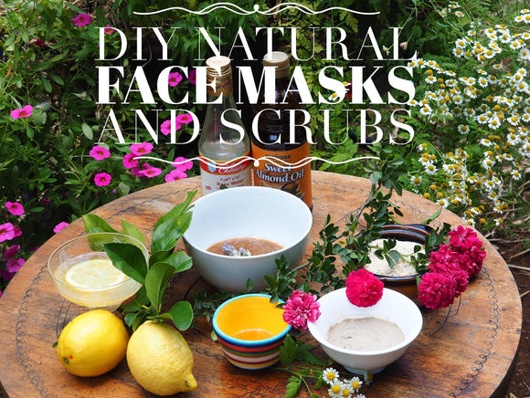 DIY Replenishing Face Mask and Scrubs