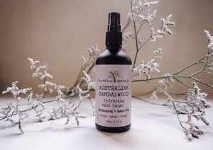Australian Sandalwood Hydrating Mist Toner with Lemon Ironbark, Qaundong & Kakadu Plum