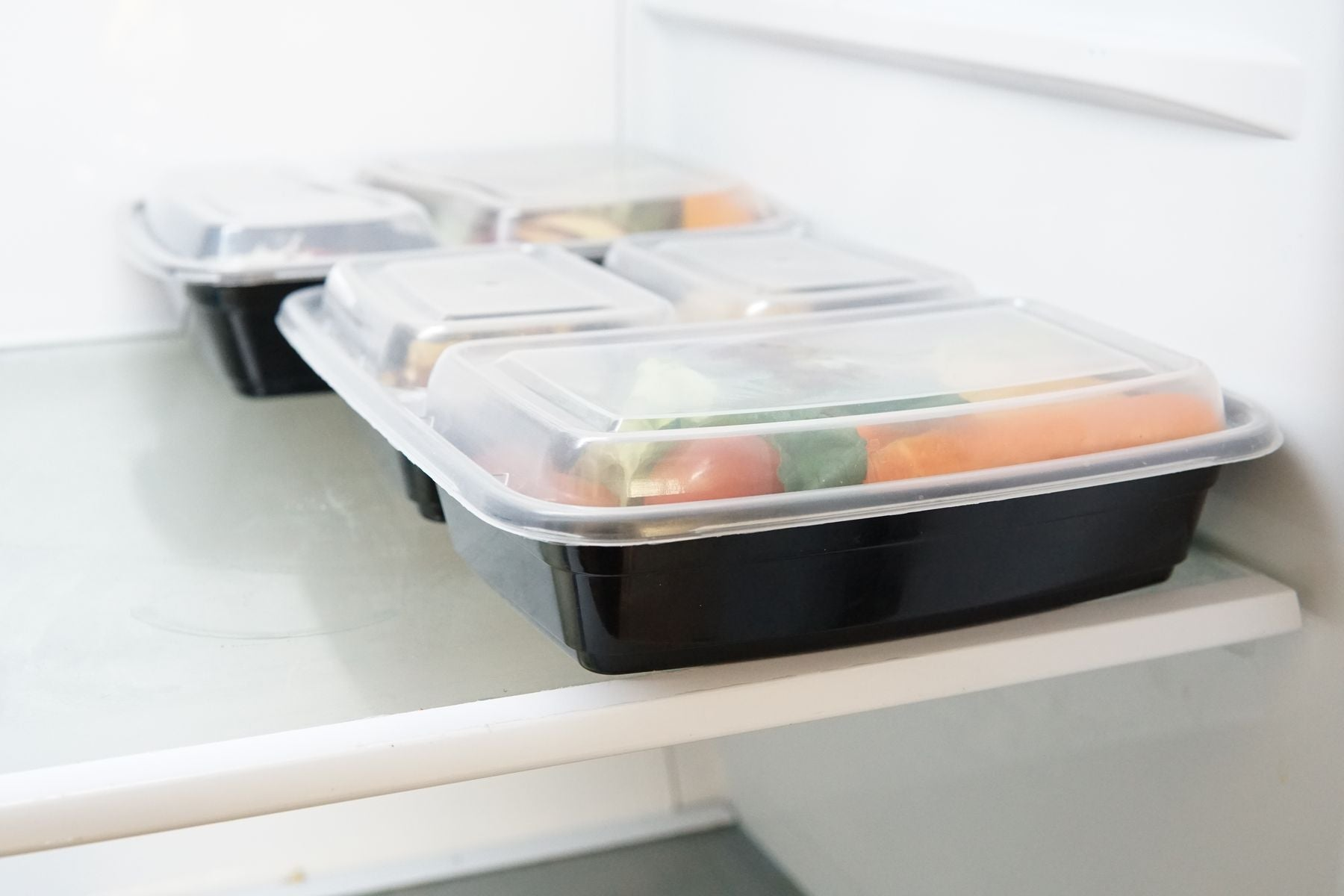 Meal Prep Container in Freezer