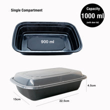10x Single Compartment Meal Prep Food Storage Containers - Jugglebox
