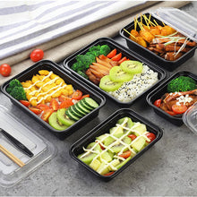 30 x Single Compartment Meal Prep Food Storage Containers - Jugglebox