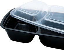 30 x Two compartment Meal Prep Food Storage Containers - Jugglebox