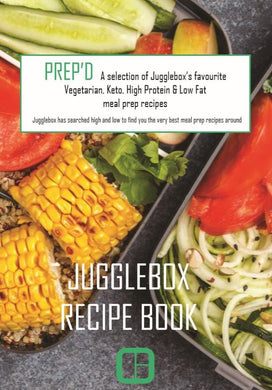 Prep'd - Meal Prep Recipe Book
