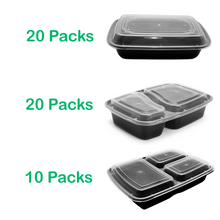 50 x The MEGA ultimate meal prep container mixed pack - Jugglebox