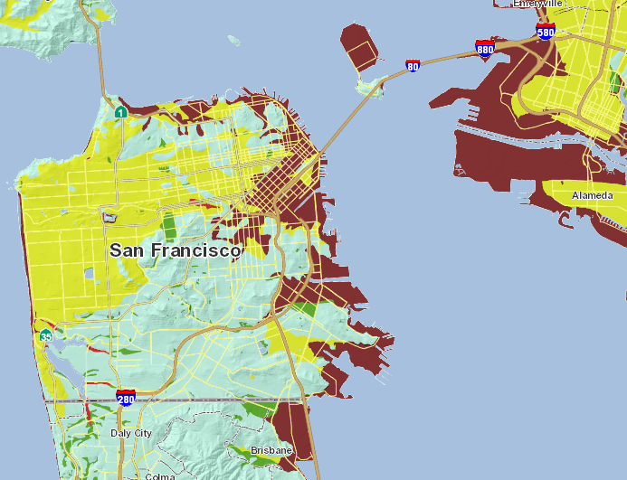 Do you live on top of one of SF\'s Liquefaction Zones? | The ...