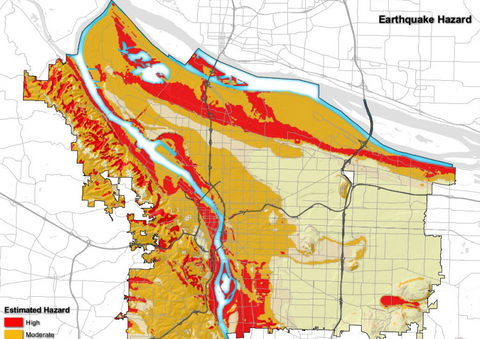 Do You Live On Top of one of Portland\'s Liquefaction Zones? | The ...