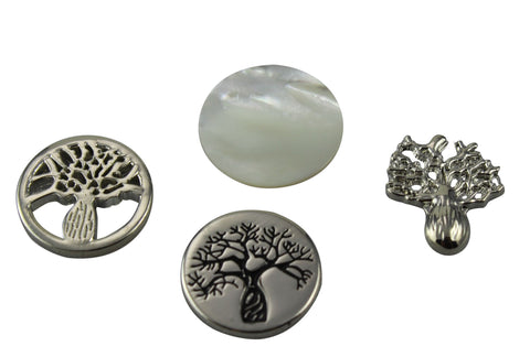 Floating Locket Boab Tree or Pearl Shell Charm Insert