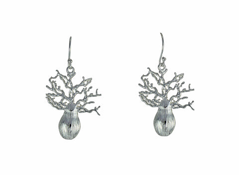 Boab Tree Earrings - Sm