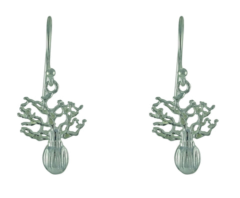 Boab Tree Earrings - mini