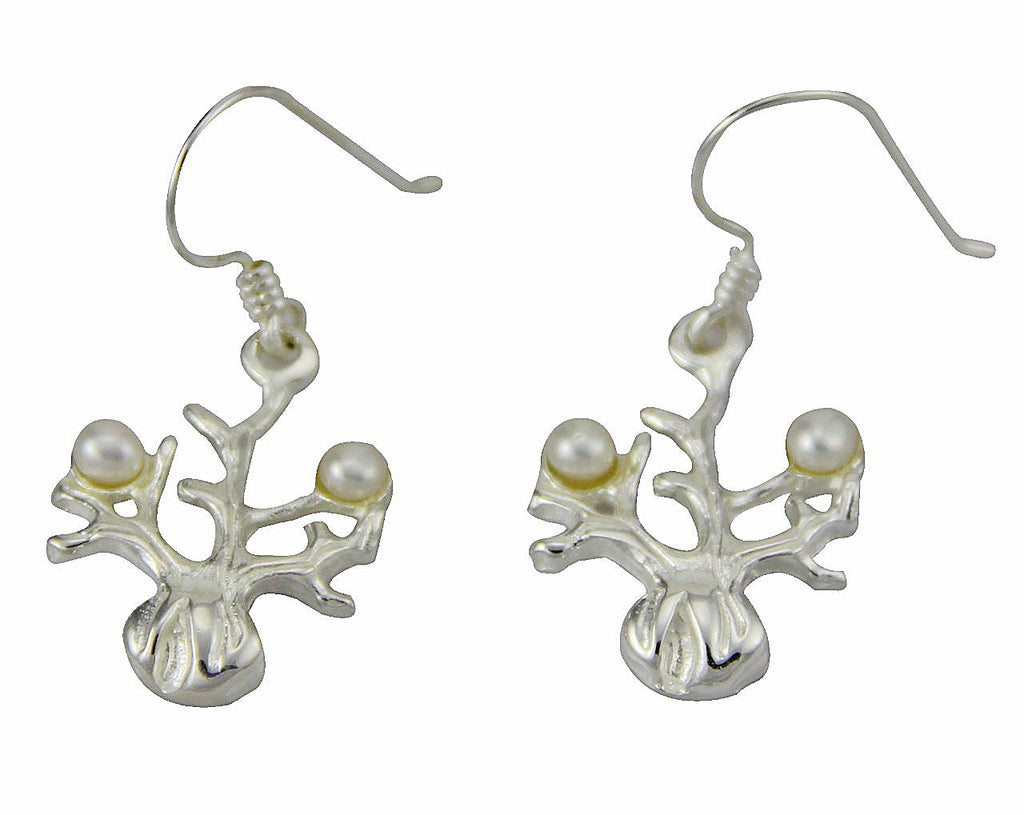 Boab Tree Pearl Earrings
