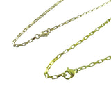 Stainless Steel Gold Box Chain