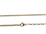 Stainless Steel Box Chain Rose Gold Clip on Clasp