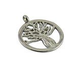 Boab Tree Pendant  - Stainless Steel