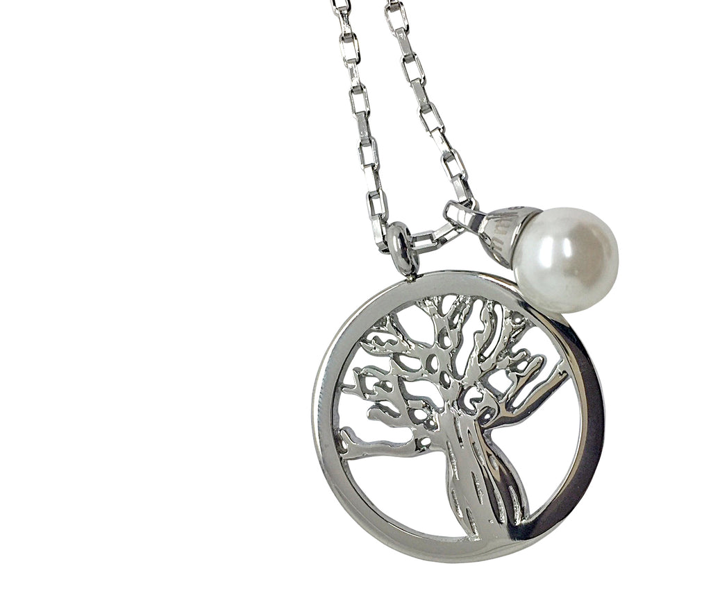 Boab Tree Pendant with Charm + Chain