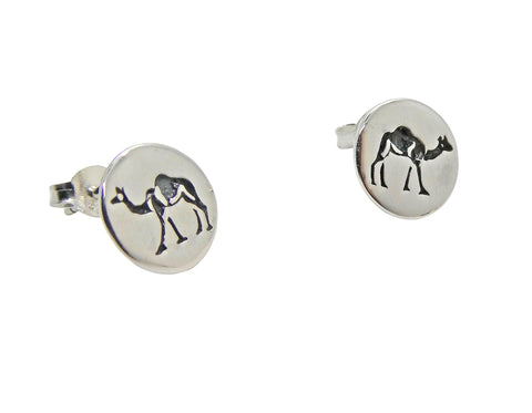 Camel Studs Etched