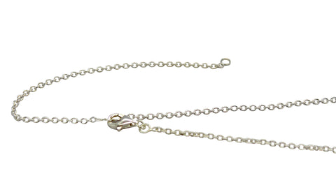 Adjustable Sterling Silver Cable Chain